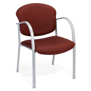 Guest and Reception Burgundy Chair