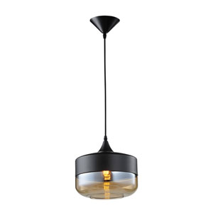 Robertson Blvd. Black 10-Inch One-Light Pendant