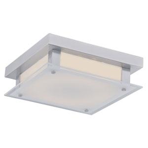 Cermack St. Polished Chrome 10-Inch LED Flush Mount