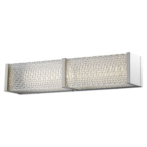 Cermack St. Brushed Nickel 24-Inch LED Bath Bar