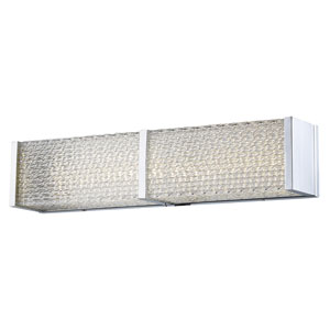 Cermack St. Polished Chrome 24-Inch LED Bath Bar
