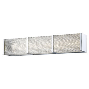 Cermack St. Polished Chrome 32-Inch LED Bath Bar