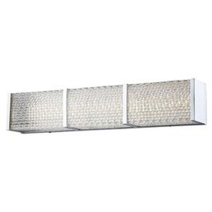 Cermack St. Polished Chrome 32-Inch LED Bath Bar