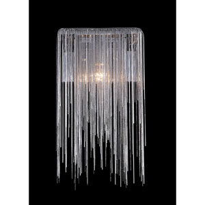 Fountain Blvd. Chrome One-Light Wall Sconce