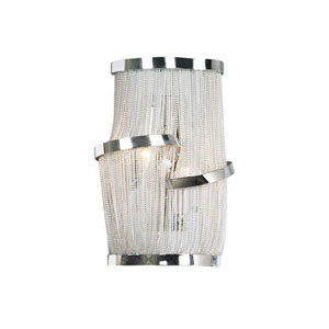 Mulholand Dr. Polished Chrome Two-Light Wall Sconce
