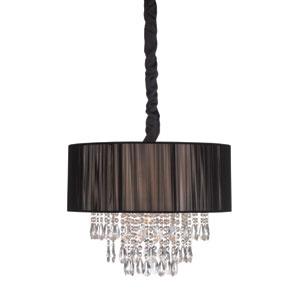 Vineland Ave. Black Six-Light Chandelier