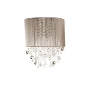 Beverly Dr. Taupe Two-Light Wall Sconce