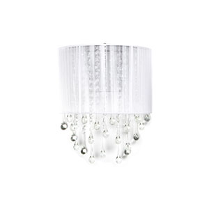 Beverly Dr. White Two-Light Wall Sconce