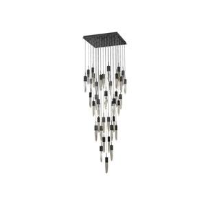 Aspen Dark Bronze 36-Inch LED Flush Mount