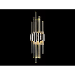 Glacier Avenue Polished Nickel 7-Inch LED Wall Sconce