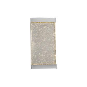 Glacier Avenue Polished Nickel 7-Inch LED Wall Sconce