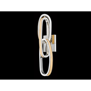 Lynx St. Polished Nickel 5-Inch LED Wall Sconce