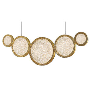 Bottega Polished Brass 2-Inch LED Pendant