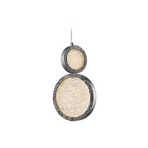 Bottega Polished Nickel 2-Inch LED Mini Pendant