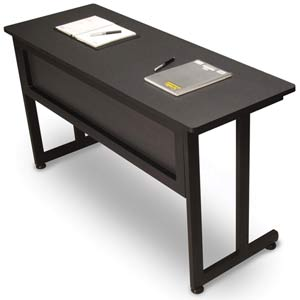 Graphite Utility Table