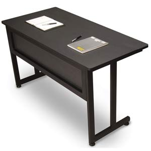 Graphite Large Utility Table