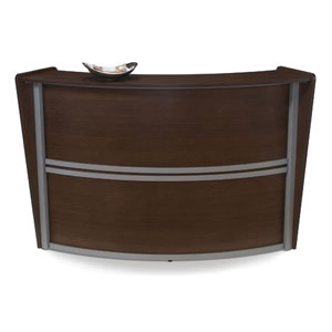 Marque Walnut Single Reception Station