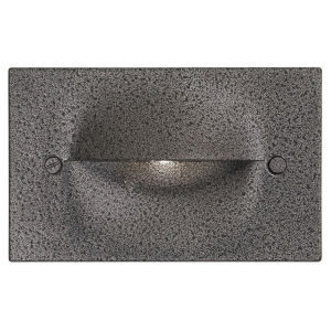 Terra Nova Hammered Black ADA LED Step Light