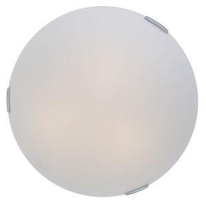 Orinoco Chrome ADA Two-Light Flushmount