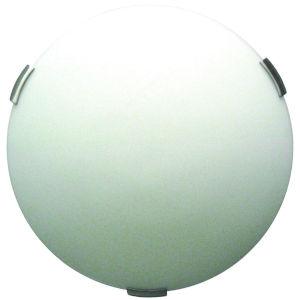 Orinoco Satin Nickel ADA Three-Light Flushmount
