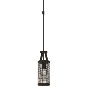 Gastown Graphite and Nickel One-Light Mini Pendant