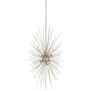 Starburst Soft Gold Six-Light Pendant