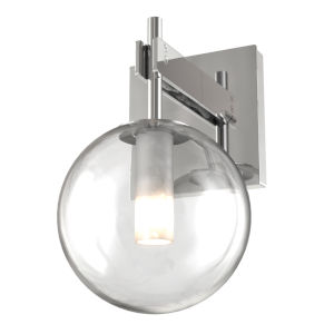 Courcellete Chrome One-Light Bath Vanity