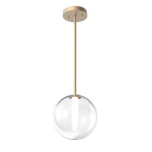 Courcellete Venetian Brass One-Light Mini Pendant