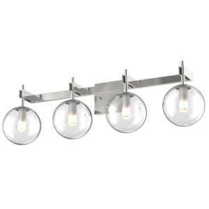 Courcellete Chrome ADA Four-Light Bath Vanity