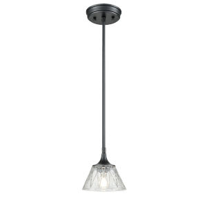 Queenston Graphite One-Light Mini Pendant