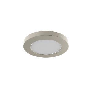 Avro Satin Nickel 6-Inch LED Flush Mount