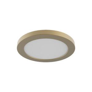 Avro Brass 7-Inch LED Flush Mount