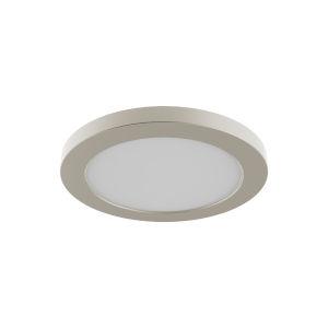 Avro Satin Nickel 7-Inch LED Flush Mount