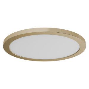 Avro Brass 12-Inch LED Flush Mount