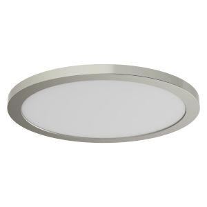 Avro Satin Nickel 12-Inch LED Flush Mount