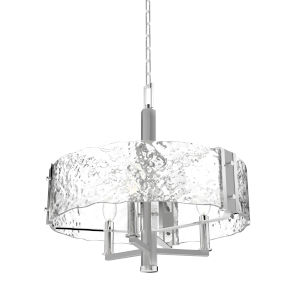 Georgian Bay Chrome and Brushed Nickel Two-Light Chandelier