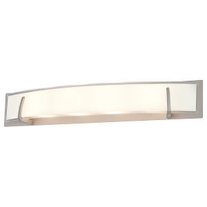 Hyperion Brushed Nickel ADA LED Bath Vanity