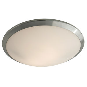 Essex Brushed Nickel ADA LED Flushmount