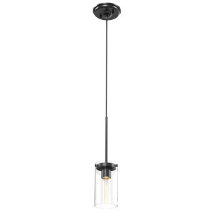 Erin Graphite One-Light Pendant