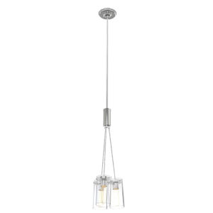 Erin Chrome Three-Light Mini Pendant