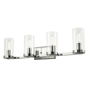 Erin Chrome ADA Four-Light Bath Vanity