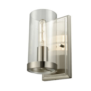 Erin Brushed Nickel ADA One-Light Bath Vanity