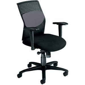 Gray AirFlo Desk Chair