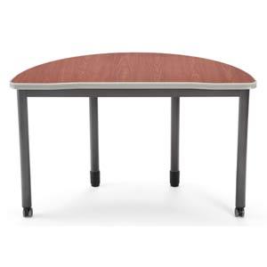 Cherry Half-Round Table