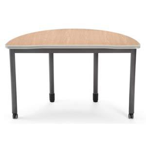 Maple Half-Round Table