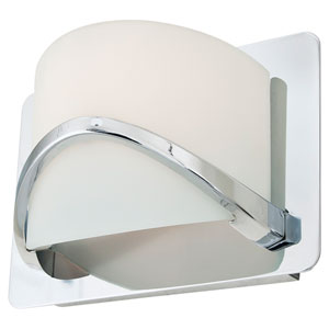 Solstice Chrome One-Light Wall Sconce