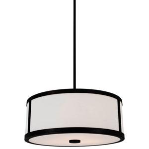 Uptown Graphite 18.5-Inch Three-Light Pendant