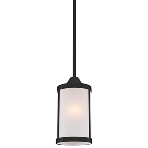 Uptown Graphite One-Light Mini Pendant