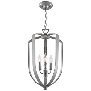 Castille Chrome 13-Inch Four-Light Foyer Pendant