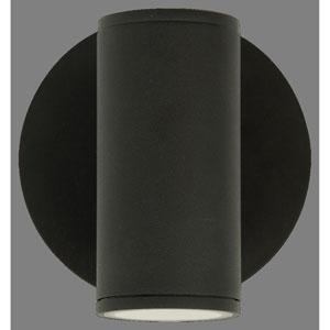 Summerside Matte Black 7-Inch One-Light Outdoor Sconce 35W